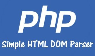 PHP Simple HTML DOM Parser